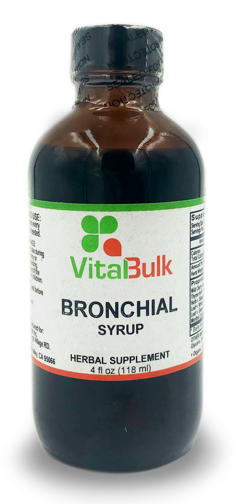 Bronchial Syrup - 4 Oz. Bottle