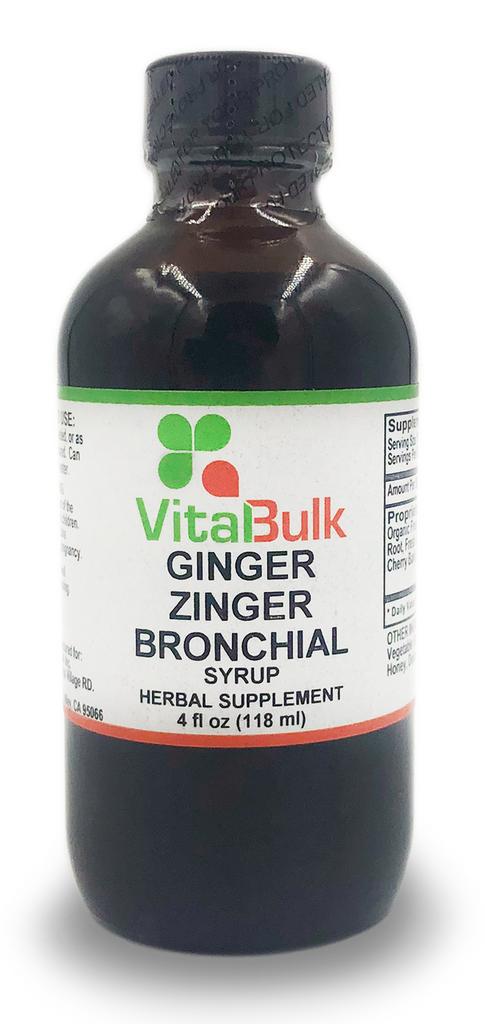 Ginger Zinger Bronchial - 4 Oz. Bottle