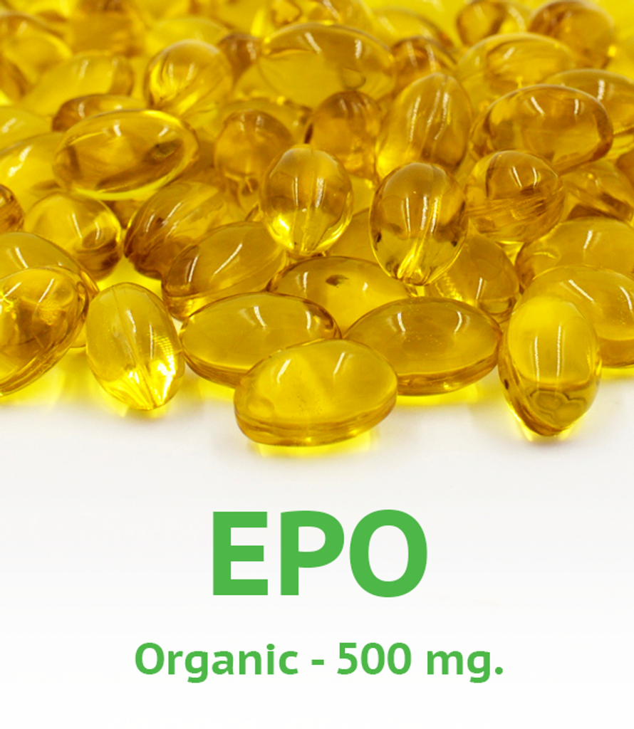 Organic Evening Primrose Oil 500 mg Softgel
