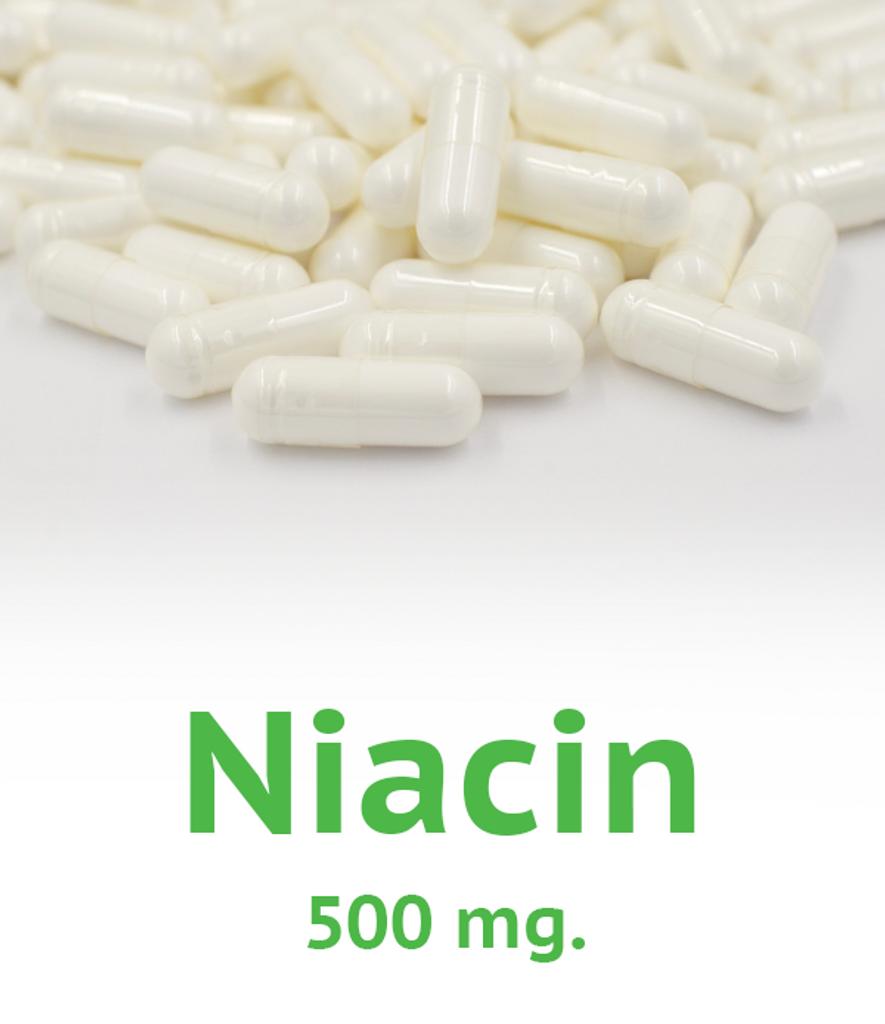 Niacin 500 mg Capsule