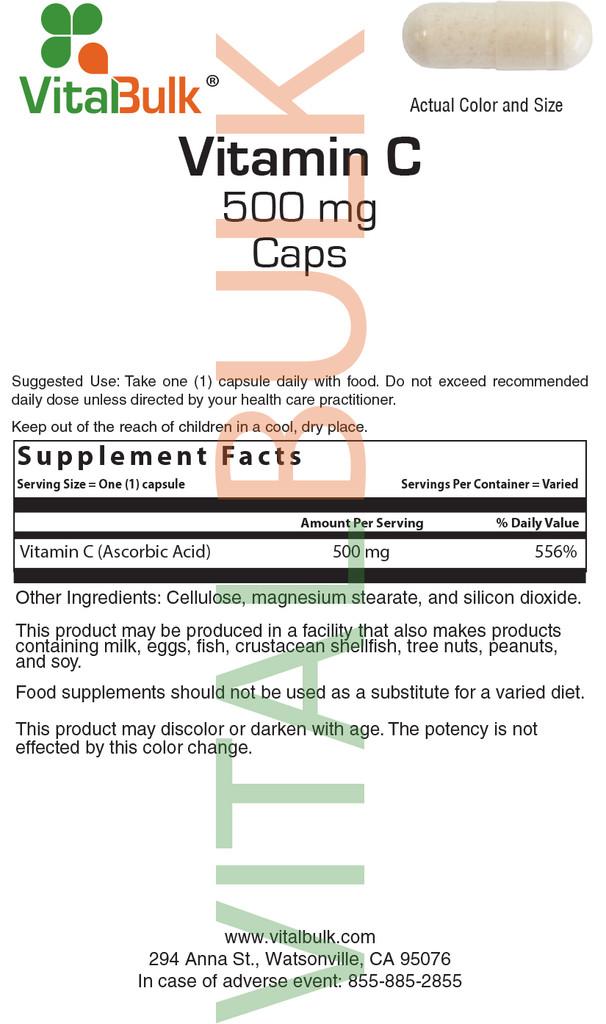 C 500 mg Capsule