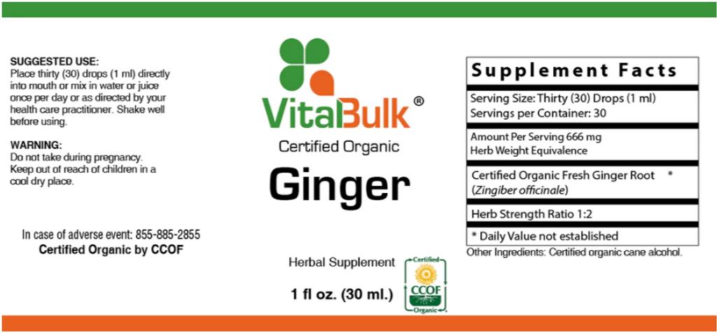 Ginger - 1 Oz. Bottle
