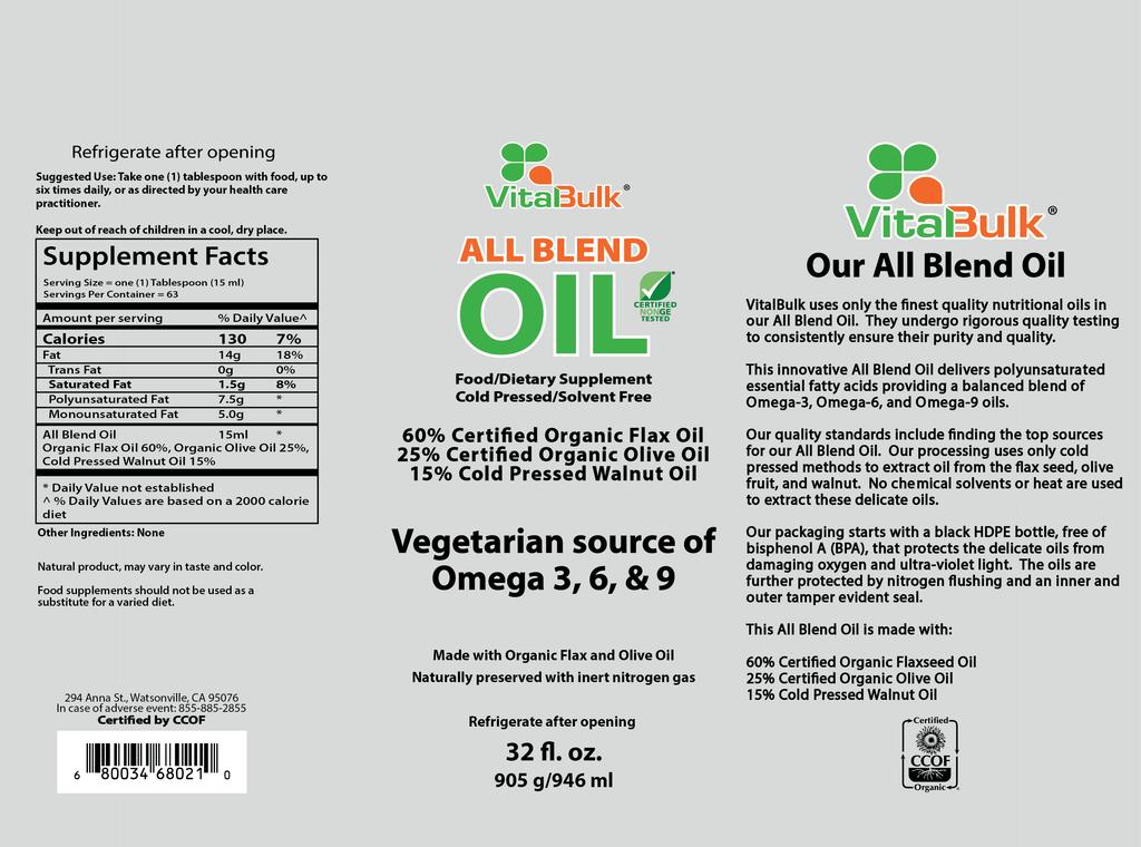 VitalBulk All Blend Oil