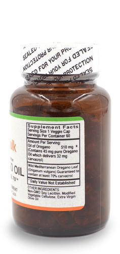 Oregano Oil - 60 Count Bottle