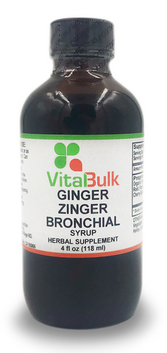 Ginger Zinger Bronchial - 4 Oz. Bottle