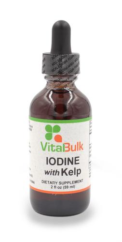 Iodine w/ Kelp - 2 Oz. Bottle