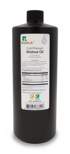 Cold Pressed Walnut Oil - 32 oz. Bottle
