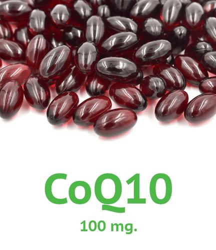CoQ10 (Soluble) 100 mg Softgel