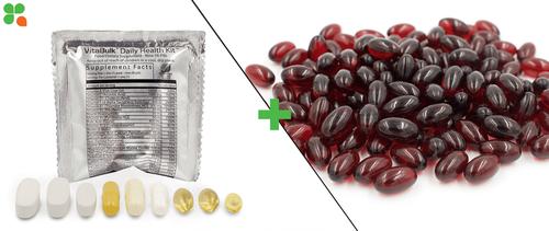 Daily Health Kit (30 Count Box) + CoQ10 100 mg. (30 Count Bag)