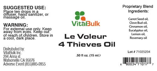 Le Voleur - 4 Thieves Oil
