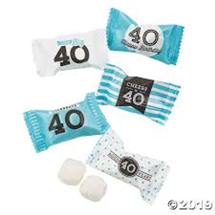 40th Birthday Butter Mints - 7 oz