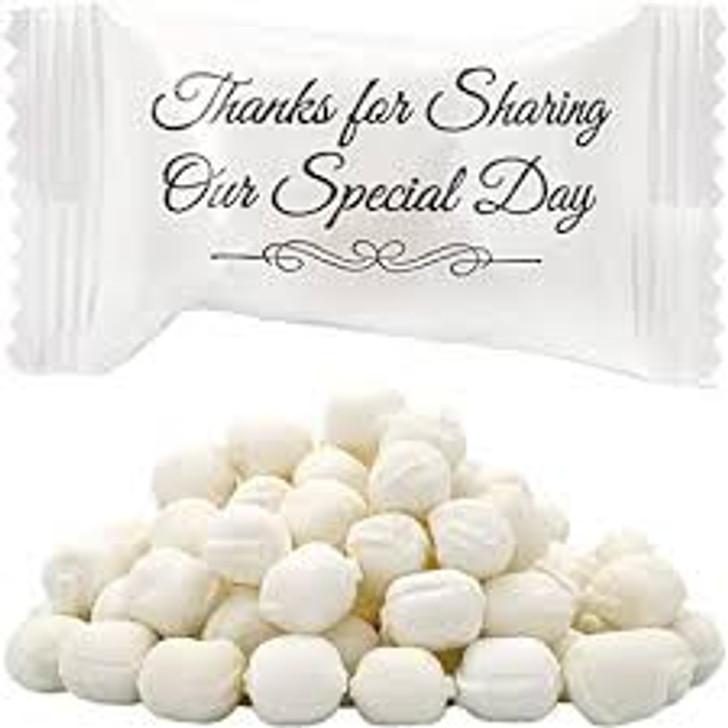 Wedding Butter Mints - 7 oz
