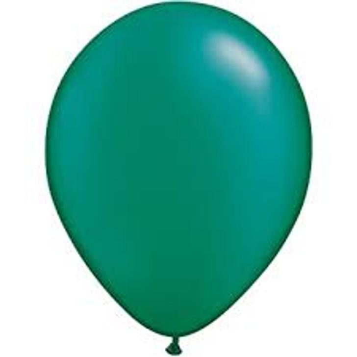 Pearl Emerald Green Latex Balloon