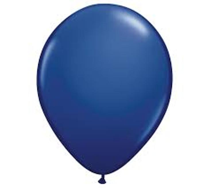 Navy Latex Balloon