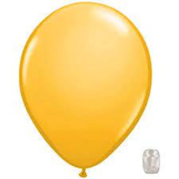 Goldenrod Latex Balloon