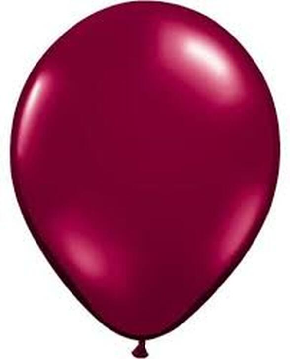 Sparkling Burgundy Latex Balloon