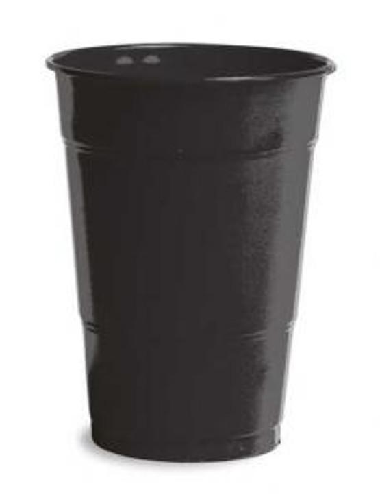 Black Velvet 16 oz Plastic Cups Case