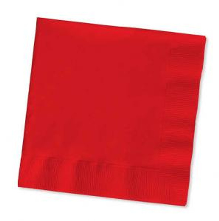 Classic Red Beverage Napkins Case
