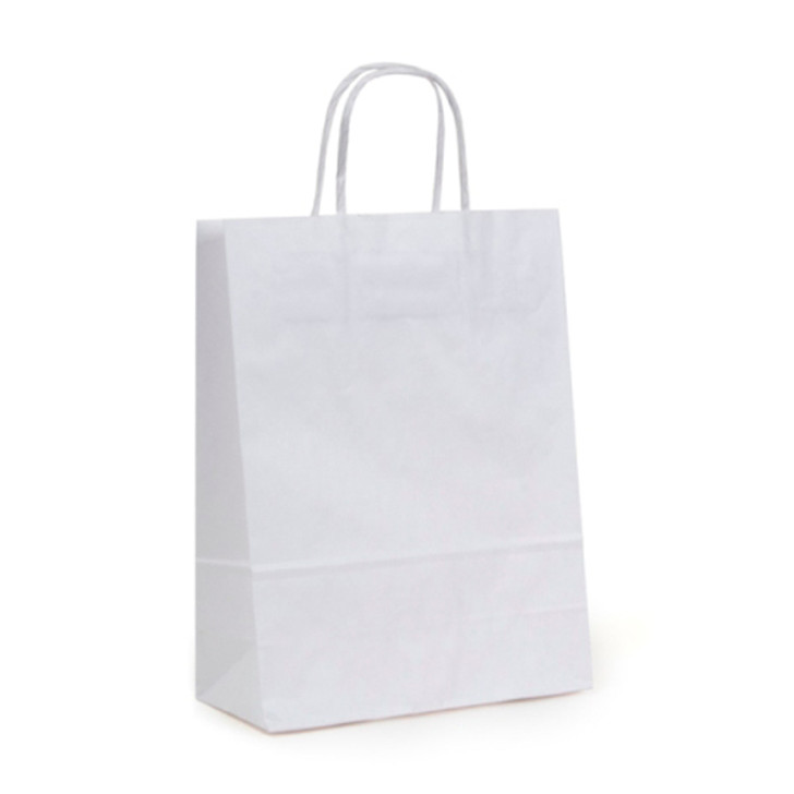 Small White Handle Bag