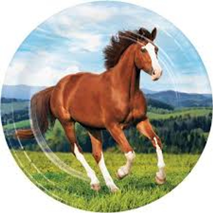 Horse and Pony 9 inch Plates