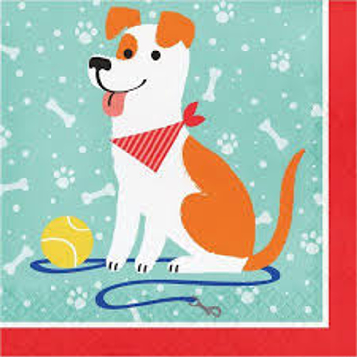 Dog Party Lunch Napkins