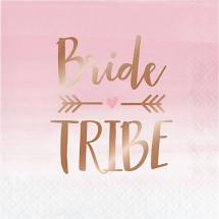 "Rosé All Day ""Bride Tribe"" Lunch Napkins Wedding / Bridal Shower"