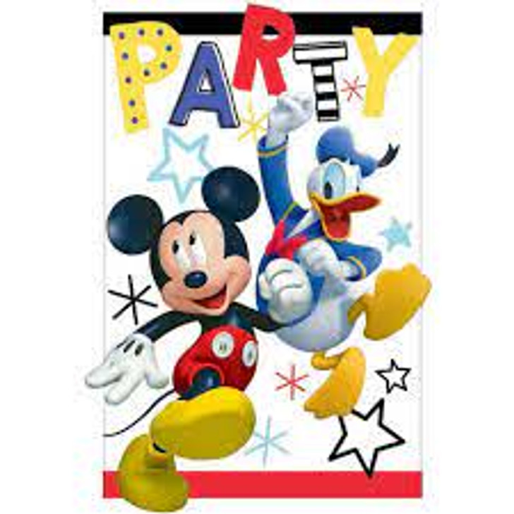 Mickey and the Roadster Racers Invitations - 8 ct