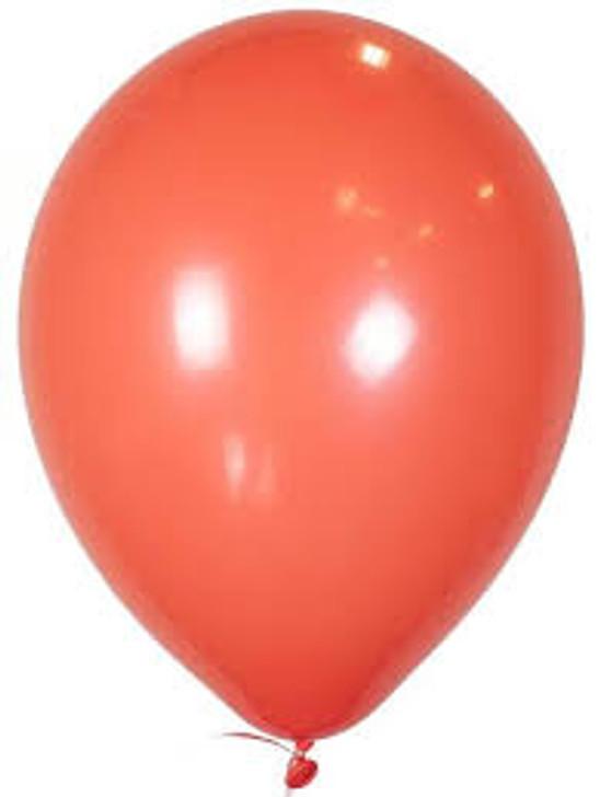 Coral Latex Balloon