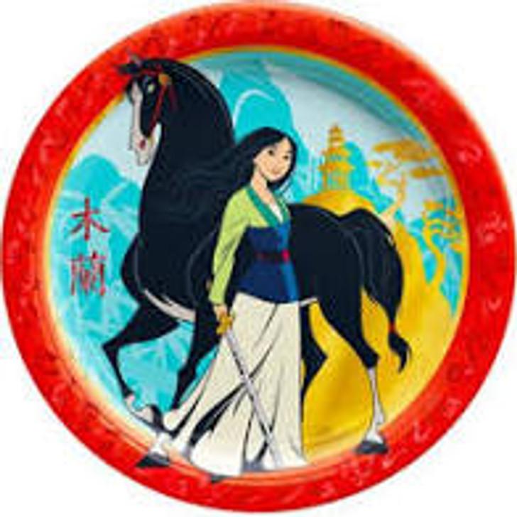 Mulan 9 inch Plates - 8 ct