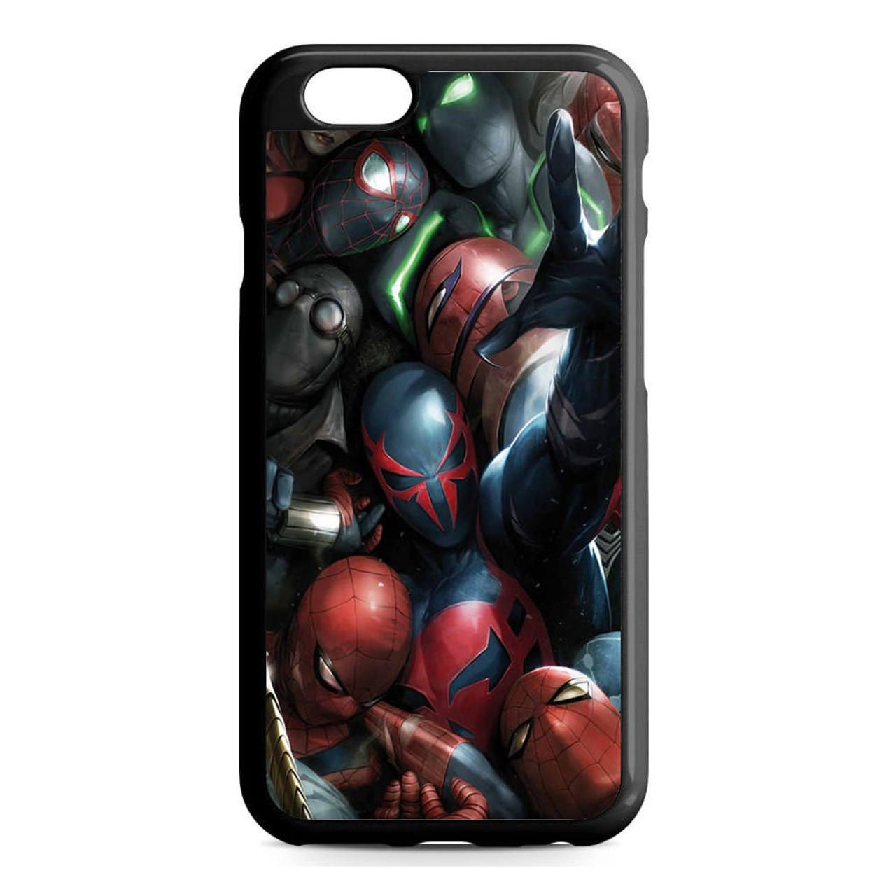 1ba909cc66d4 Spiderman Mask Collection iPhone 6 6S Case - GGIANS