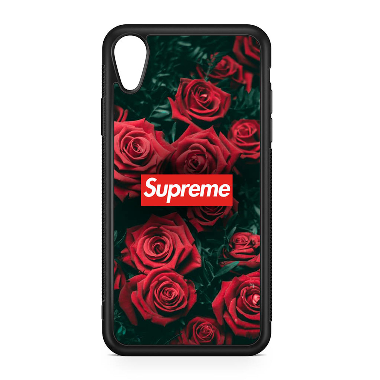 best authentic 80554 bb3cc Supreme Roses iPhone XR Case