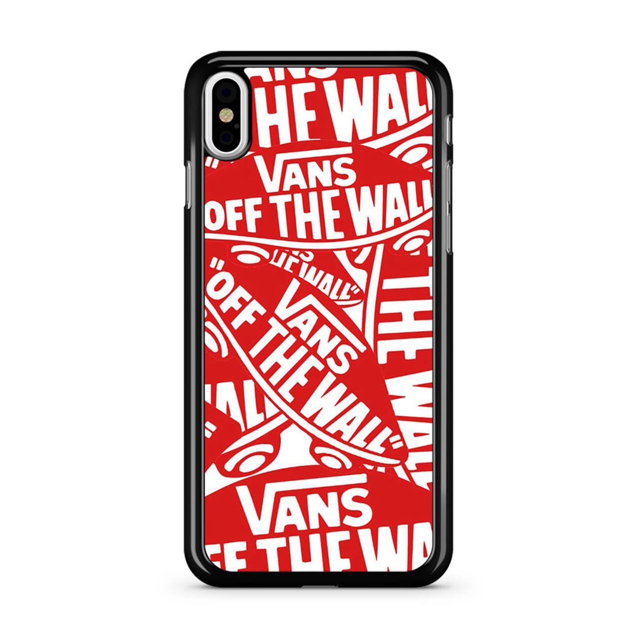 finest selection 13ef5 ce712 Vans logo iPhone XS Max Case
