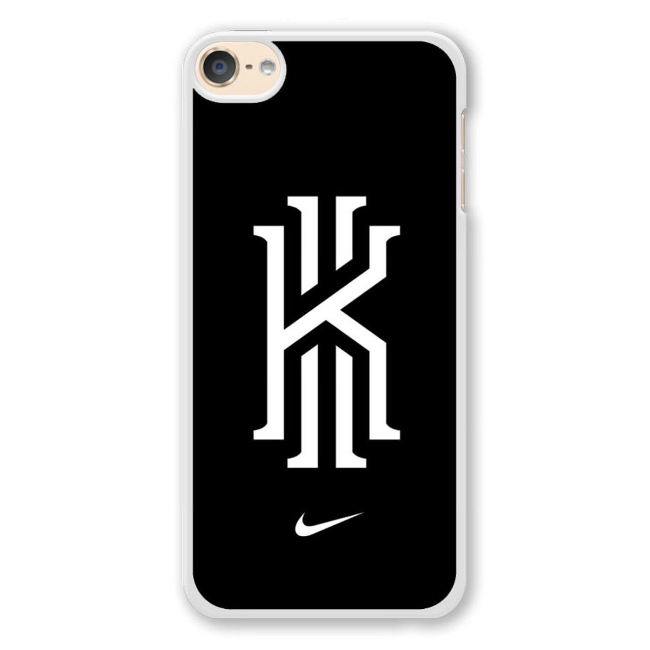 best sneakers exclusive range new collection Kyrie Irving Nike Logo Black1 iPod Touch 6 Case