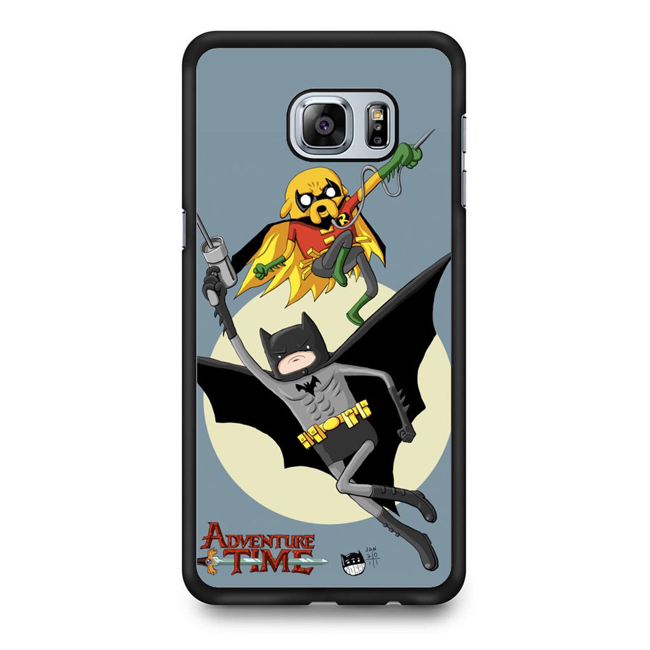 promo code 3030d 43c1c Adventure Time Batman and Robbin Samsung Galaxy S6 Edge Plus Case