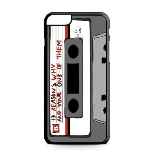 13 Reasons Why Casette iPhone 6 Plus/6S Plus Case