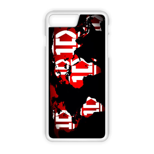1D Map World iPhone 7 Plus Case