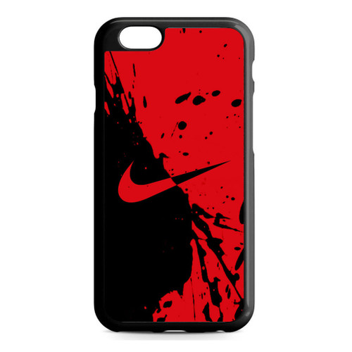 Nike Red and Black iPhone 6/6S Case