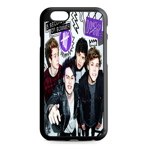 5SOS Poster Don't Stop iPhone 6/6S Case