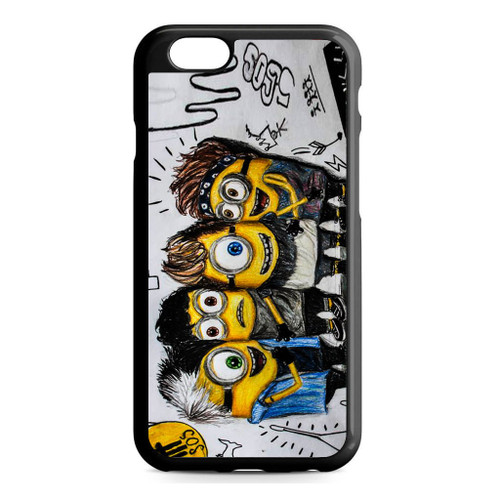 5SOS She Looks So Perfect Minions iPhone 6/6S Case