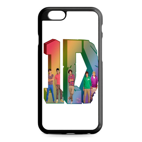 1D Logo Colourfull iPhone 6/6S Case