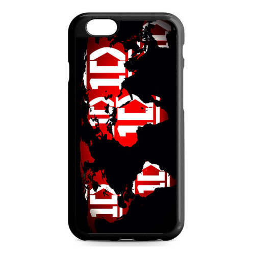 1D Map World iPhone 6/6S Case