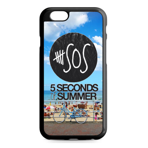 5SOS Logo Sidney Beach iPhone 6/6S Case