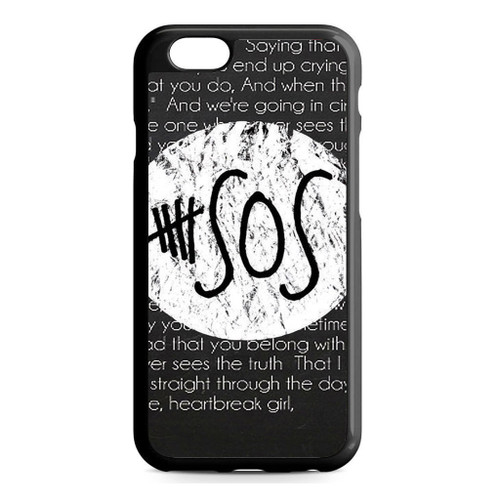5SOS QUOTE iPhone 6/6S Case