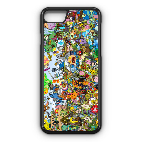 Adventure Time All Character iPhone 8 Case