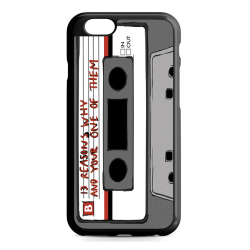 13 Reasons Why Casette iPhone 6/6S Case