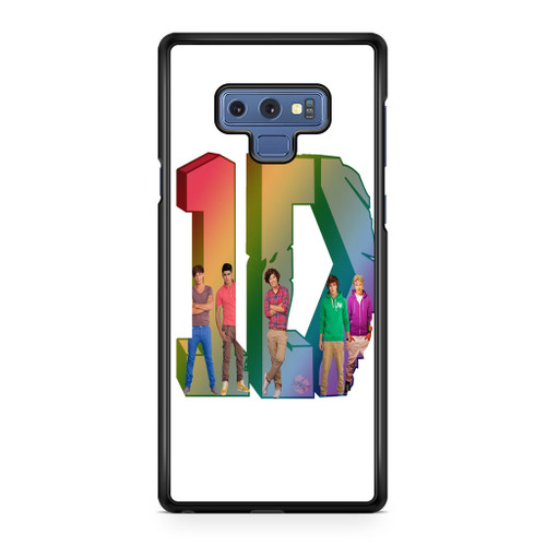 1D Logo Colourfull Samsung Galaxy Note 9 Case