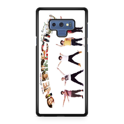 1D One Dreams One Lands Samsung Galaxy Note 9 Case