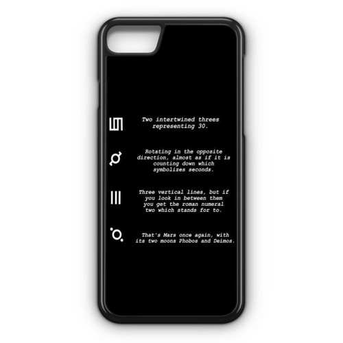 30 Second to Mars Symbol Definition iPhone 8 Case