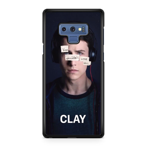 13 Reasons Why Clay Samsung Galaxy Note 9 Case