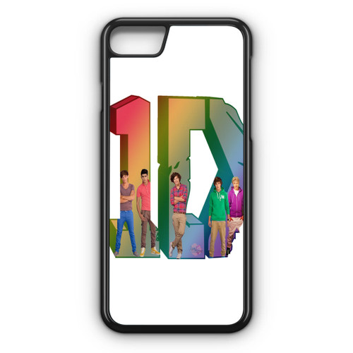 1D Logo Colourfull iPhone 8 Case